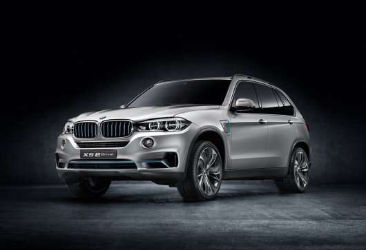 Гібридна 2015 BMW X5 eDrive (F15) буде показана у Франкфурті