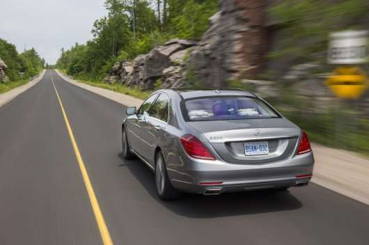 Офіційні ціни на новий Mercedes-Benz S-класу W222