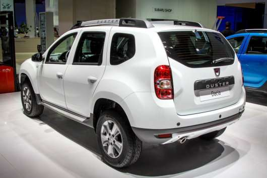 Франкфурт: 2013 Renault Duster