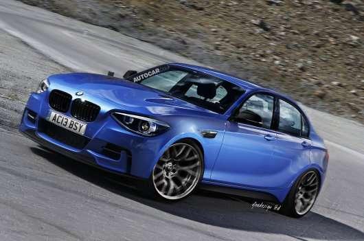 Нова BMW 1-ї серії седан надійде в продаж у 2017 році