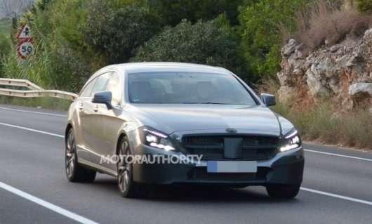 2015 Mercedes-Benz CLS - Перші фотографії