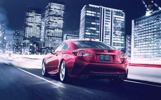 2015 Lexus RC - Дебют на автосалоні в Токіо