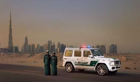 Brabus Mercedes-Benz G63 AMG на службі поліції Дубая