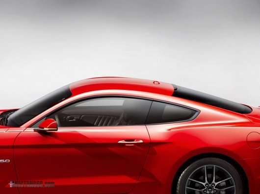 Перші якісні фото 2015 Форд Мустанг