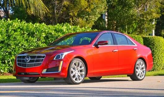 2014 Cadillac CTS: Докладний огляд