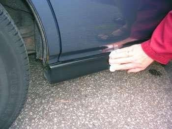 Поліровка кузова автомобіля