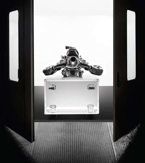 Новий гібридний турбо двигун Формули-1