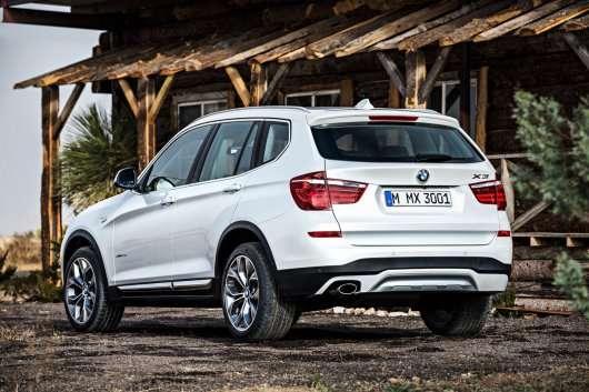 Новий 2015 BMW X3: Нова інформація і фотографії