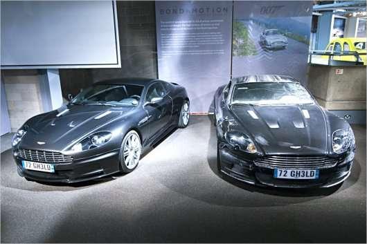 Джеймс Бонд: найвідоміші автомобілі