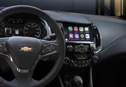 2016 Chevrolet Cruze: Шпигунські фотографії